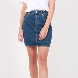 NWT Rolla's High Rise Denim Mini Skirt 24